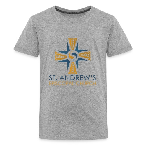 St. Andrew's logo on transparent background - Kids' Premium T-Shirt
