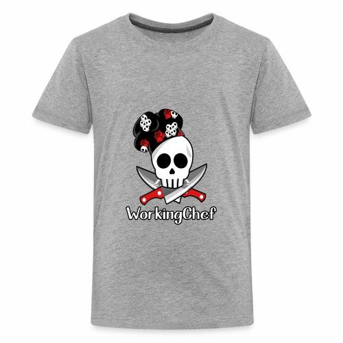 WorkingChef - skulls - Kids' Premium T-Shirt