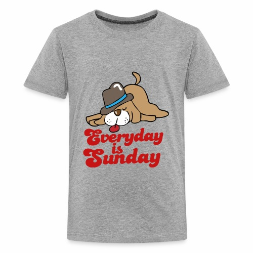 everyday is sunday - Kids' Premium T-Shirt