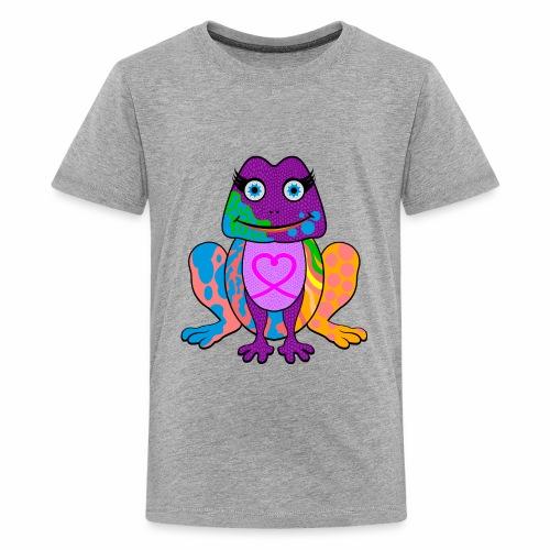 I heart froggy - Kids' Premium T-Shirt