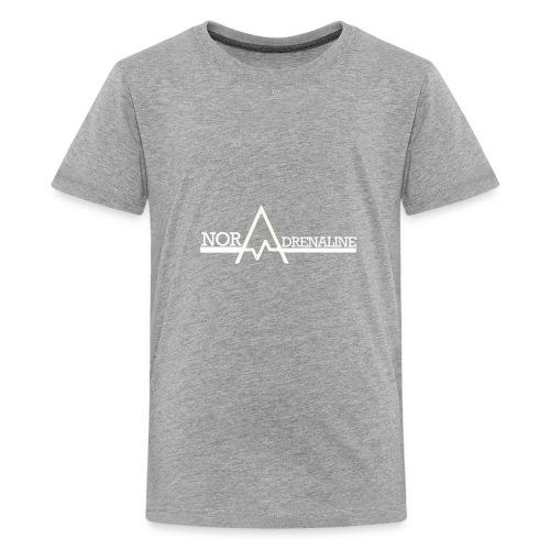 Norwegian Adrenaline White logo - Kids' Premium T-Shirt