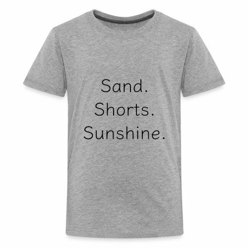 Sand Short Sunshine - Kids' Premium T-Shirt