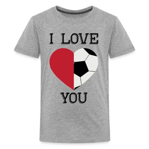 i love you soccer - Kids' Premium T-Shirt