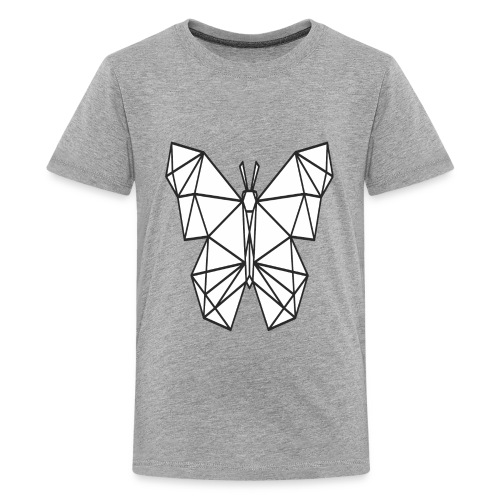 Butterfly Line Art - Kids' Premium T-Shirt