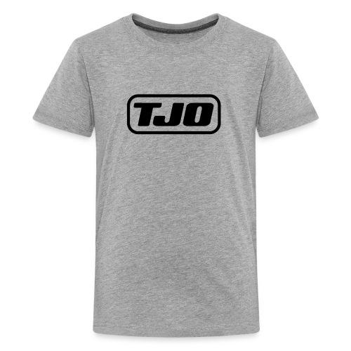 TJO official large black - Kids' Premium T-Shirt