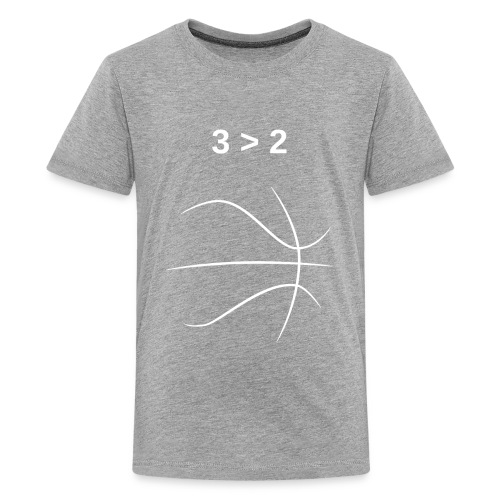 3 > 2 Basketball - Kids' Premium T-Shirt