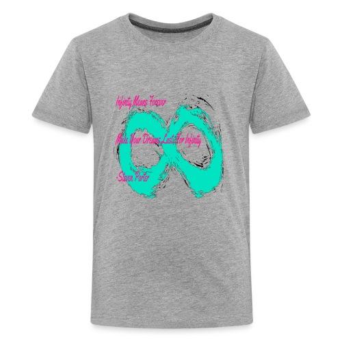Infinity Quote Shirt | CreateMeInfinity - Kids' Premium T-Shirt