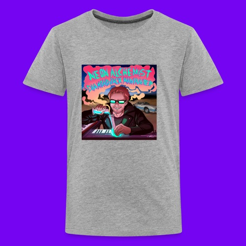 Neon Alchemist Album Cover #1 Best Grammy All-Time - Kids' Premium T-Shirt