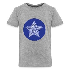 Sketchy star - Kids' Premium T-Shirt