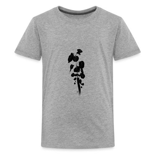 Silhouetted Plant - Kids' Premium T-Shirt
