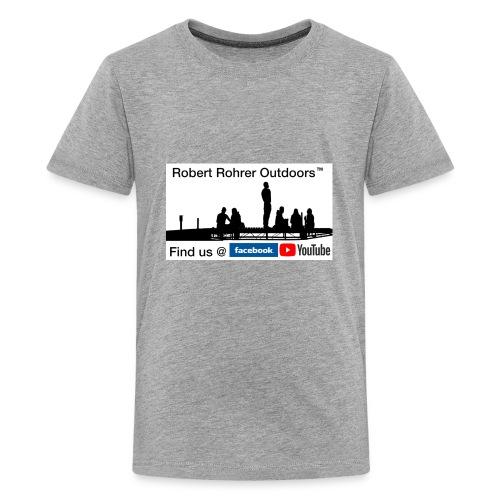 Robert Rohrer Outdoors Fishing - Kids' Premium T-Shirt