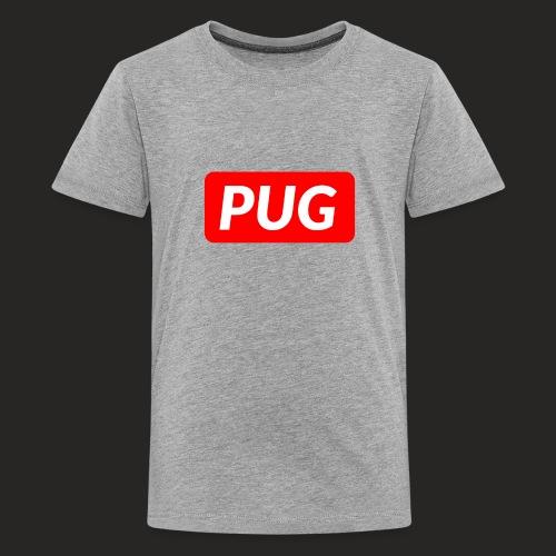 SkaterPug Shirt - Kids' Premium T-Shirt