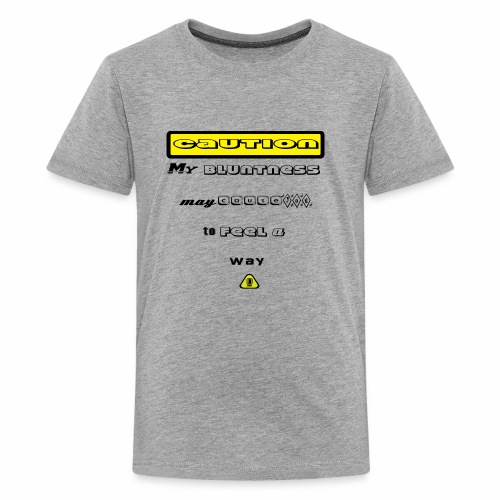 Caution Big - Kids' Premium T-Shirt