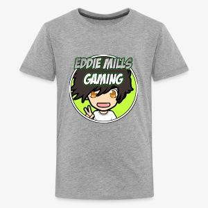 Revamped OG Eddie Mills Gaming Logo - Kids' Premium T-Shirt
