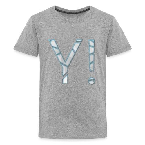 Yenkij - logo - Kids' Premium T-Shirt