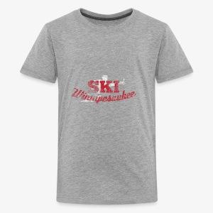 Lake Winnipesaukee Water Skiing T-Shirt - Kids' Premium T-Shirt