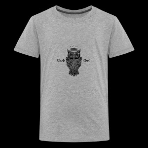 Black Owl - Kids' Premium T-Shirt