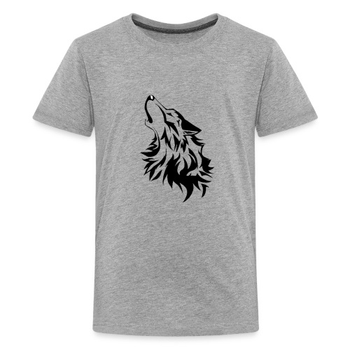 Coyote Howling - Kids' Premium T-Shirt