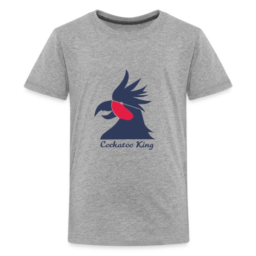 Cockatoo Logo - Kids' Premium T-Shirt