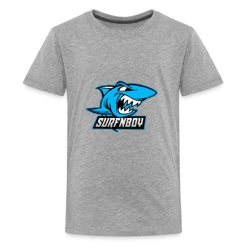 Surfnboy Mascot - Kids' Premium T-Shirt