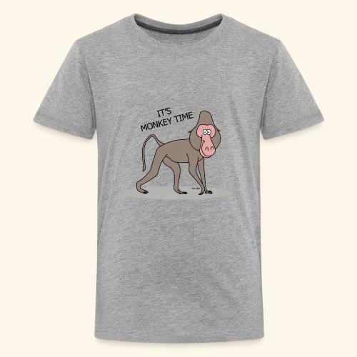 It's Monkey Time - Kids' Premium T-Shirt