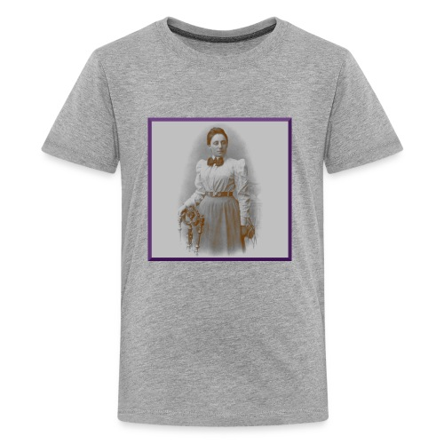 Emmy Noether - Lady of Rings - Kids' Premium T-Shirt