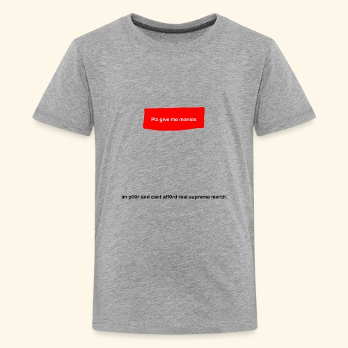 Fake Supreme Logo - Kids' Premium T-Shirt