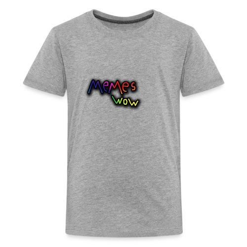 Memes Wow Logo - Kids' Premium T-Shirt