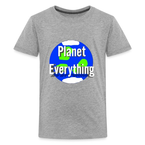 Planet Circle logo merchandise - Kids' Premium T-Shirt
