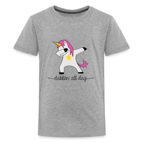 dabbing unicorn - Kids' Premium T-Shirt