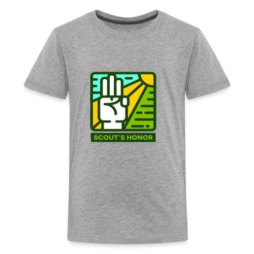 scouts honour - Kids' Premium T-Shirt