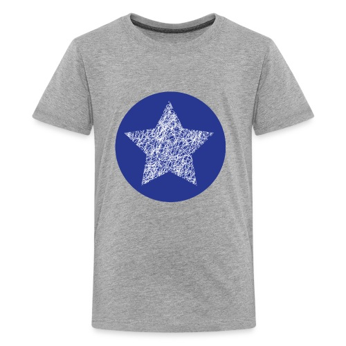 Sketchy star - Kids' Premium T-Shirt