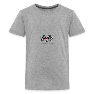 varoom1skull&flags - Kids' Premium T-Shirt