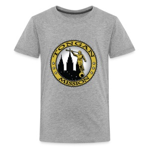 Tongan Mission - LDS Mission Classic Seal Gold - Kids' Premium T-Shirt