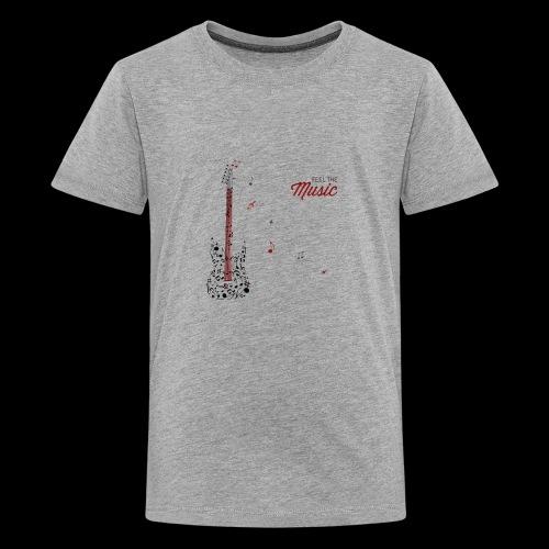 Feel The Music - Kids' Premium T-Shirt