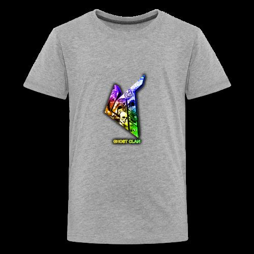 GhosT Clan Abstract Rainbow - Kids' Premium T-Shirt