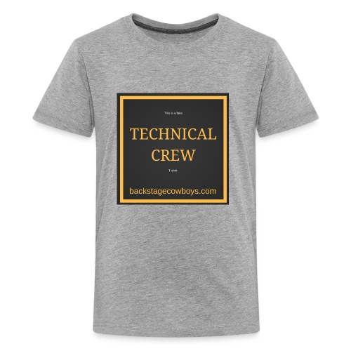 FAKE TECHNICAL CREW - Kids' Premium T-Shirt