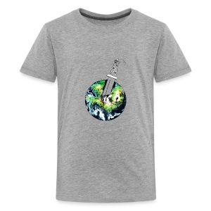Oil Killer - Save planet - Kids' Premium T-Shirt