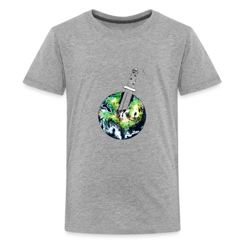 Oil Killer - Save planet - Kids' Premium T-Shirt