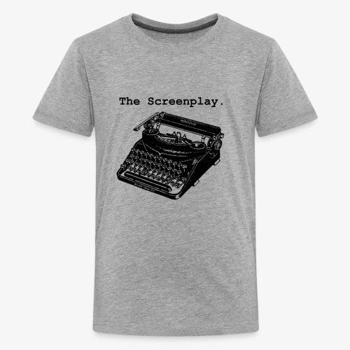 Full Logo (BLACK) - Kids' Premium T-Shirt