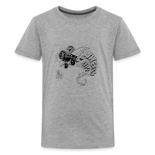 wheels up - Kids' Premium T-Shirt
