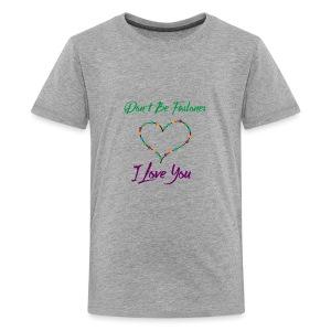 I love you - Kids' Premium T-Shirt