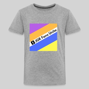 JGR Fans Unite Retro Logo - Kids' Premium T-Shirt