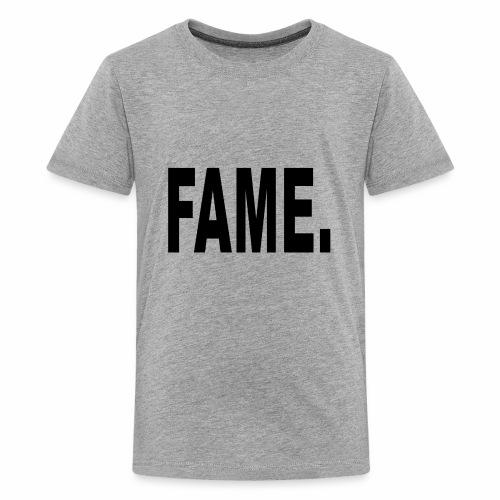 Fame Schwarz - Kids' Premium T-Shirt