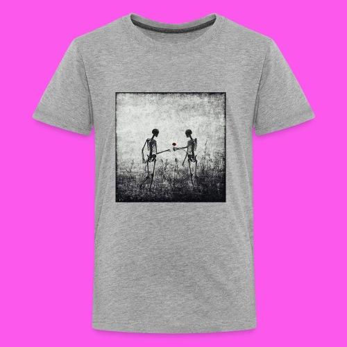 Skeletons in love - Kids' Premium T-Shirt