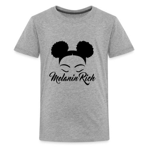 Melanin Rich - Kids' Premium T-Shirt