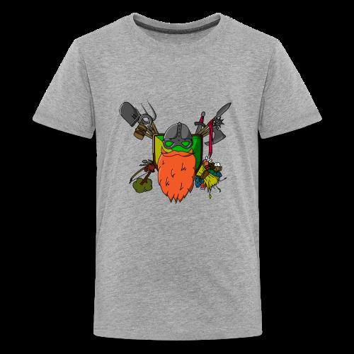 DodBeard - Kids' Premium T-Shirt