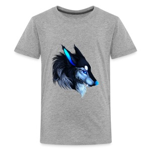Wolfey Mans T - Kids' Premium T-Shirt