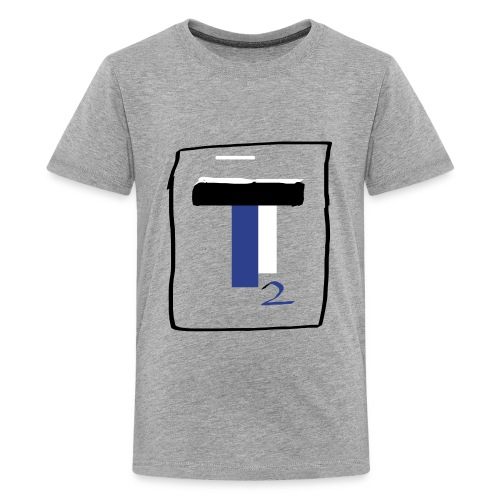 new T2 youtubers merch - Kids' Premium T-Shirt