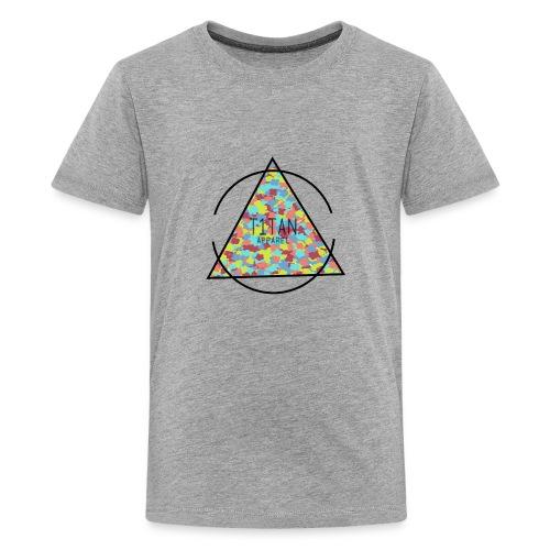 Titan Apparel Hawaiian Camo Logo - Kids' Premium T-Shirt